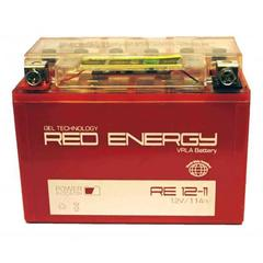 Аккумулятор 12V 11Ah (RE1211) RED ENERGY с индикатором заряда
