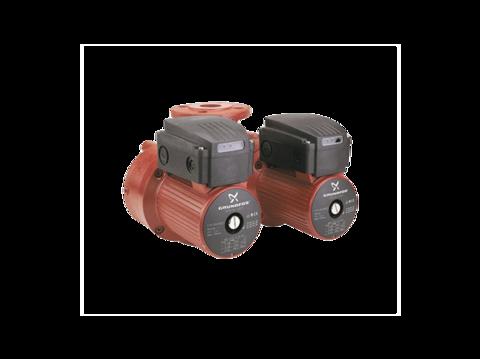 Сдвоенный насос - Grundfos UPSD 32-120 F со встроенным релейным модулем (230 В)