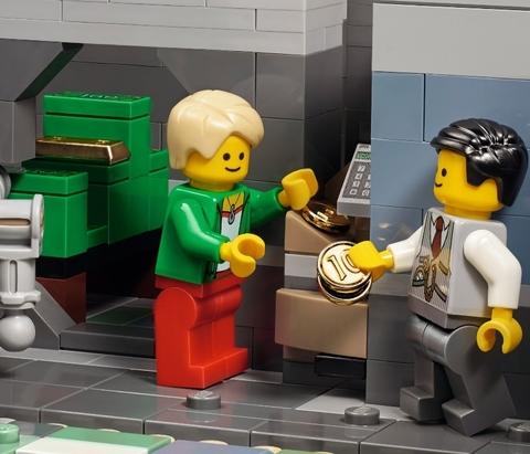 LEGO Creator: Банк кубиков 10251 — Brick Bank — Лего Креатор Творец Создатель