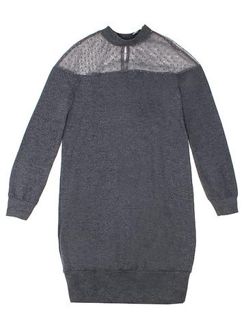 GDR011081 Платье женское. темно-серое