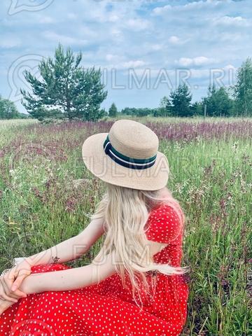 Шляпа канотье женская летняя Джессика