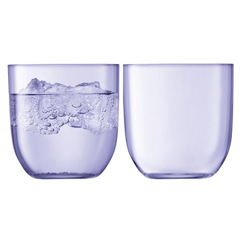 Набор из 2 стаканов Hint, 400 мл, фиолетовый
