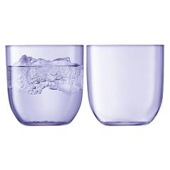 Набор из 2 стаканов Hint, 400 мл, фиолетовый, фото 1