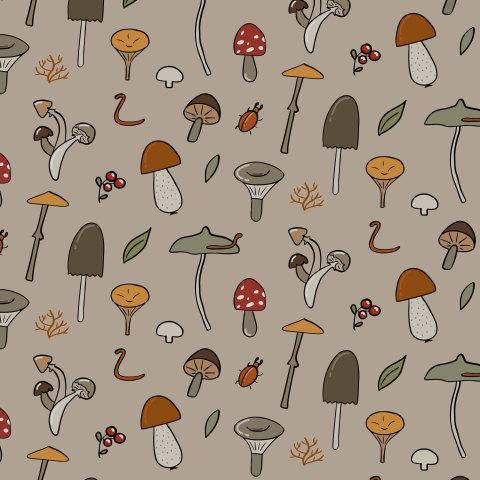 Грибы-грибочки