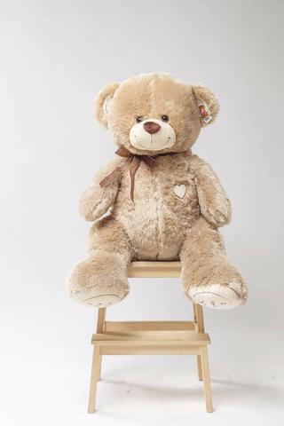 Плюшевый медведь Бежевый 120 см