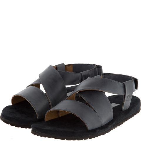 578157 сабо мужские серые. КупиРазмер — обувь больших размеров марки Делфино