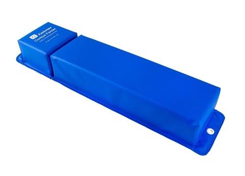 Кранец причальный угловой 760х155 мм, синий