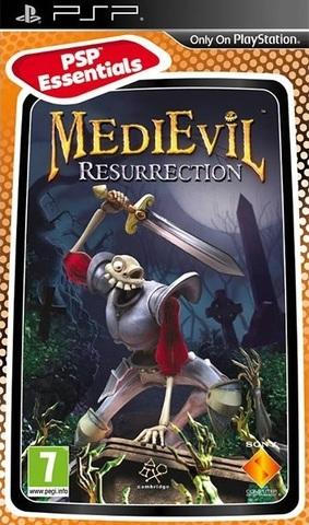 MediEvil Resurrection (PSP, русская версия, б/у)
