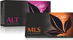APL. Набор: аккумулированные драже APLGO MLS и ALT для избавления от паразитов и устранения аллергии