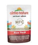 Almo Nature Classic Raw Pack - Chicken Fillet with Ham Влажный корм для кошек