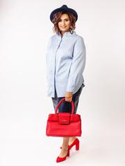 Блузка в стиле casual НБ186-36