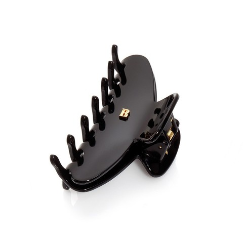 Balmainhair Заколка-краб для волос черная размер М Рince black M