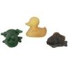 """Hevea набор игрушек для ванной из 100% натурального(природного) каучука """"Pond""""цветные"""