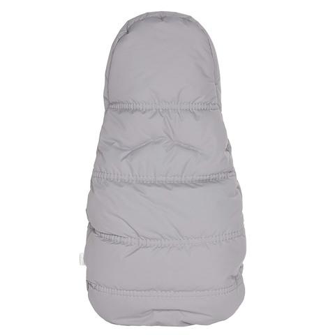 Конверт кокон для новорожденных Lollycottons серый