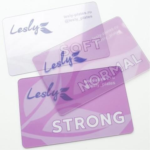 LESLY Набор скребков Lesly - (3 шт разной плотности)