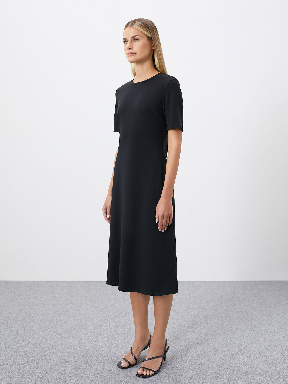 Платье Jenis с вырезом на спине, Черный