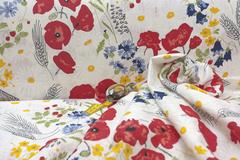 Применим для изготовления одежды пошива льняных штор льняных скатертей постельного белья