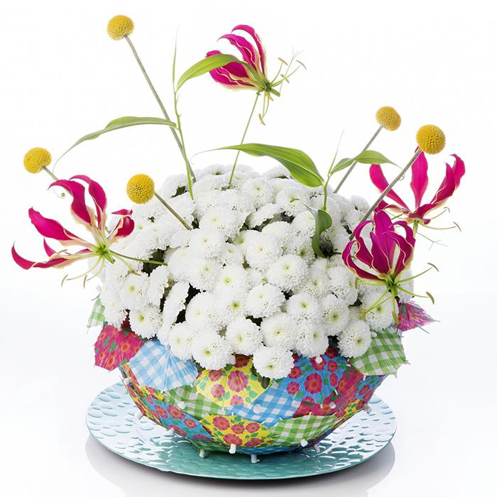 Хризантемы кустовые белые Coconut от 3шт