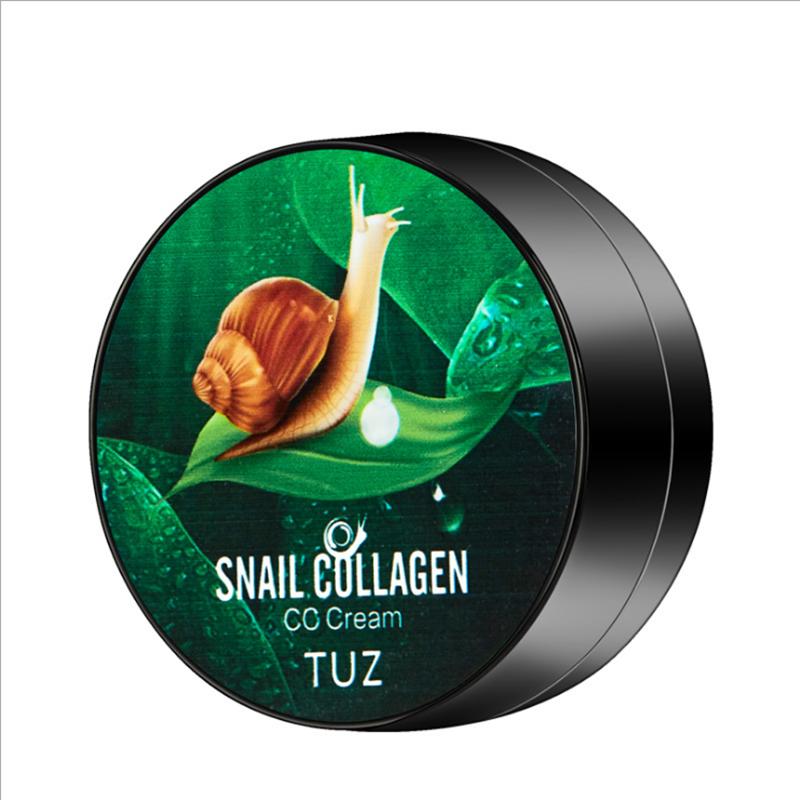Кушон для лица TUZ Snail Collagen CC Cream