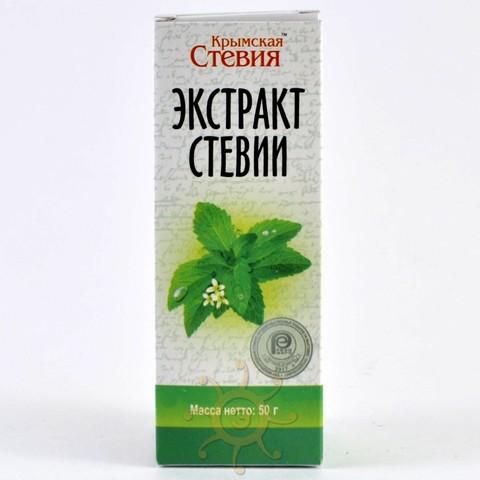 Экстракт (сироп) стевии Крымская стевия, 50мл