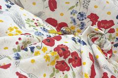 Купить  ткань компаньон для этой льняной ткани можно  в магазине ЛиноБалт.