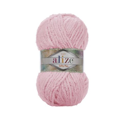 Купить Пряжа Alize Softy Plus Цвет 31 Нежно-розовый | Интернет-магазин пряжи «Пряха»