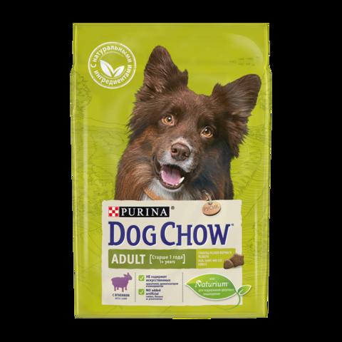 Dog Chow Adult Сухой корм для собак с Ягненком
