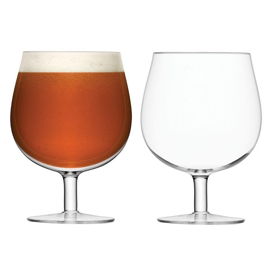 Набор из 2 бокалов для пива на ножке Bar, 550 мл