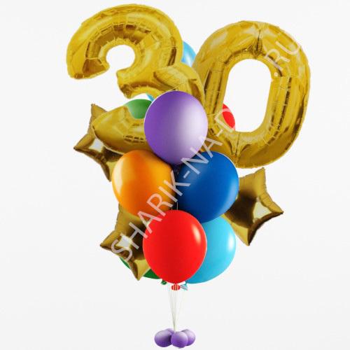 Украшение шарами на День Рождения Фонтан из шаров 30 лет Фонтан_из_шаров_30_лет.jpg
