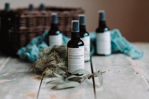 Сыворотка-спрей для термозащиты волос Витаминный коктейль Краснополянская косметика, 100 мл