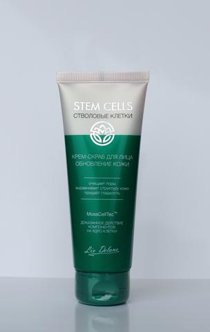 Liv-delano Stem Cells  Крем-скраб для лица Обновление кожи 75гр