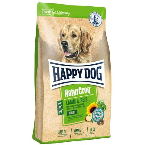 Happy Dog NaturCroq Adult Lamm & Reis 15 кг