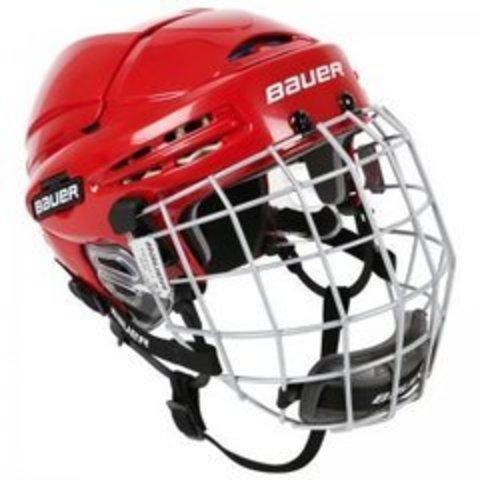 Шлем хоккейный с маской BAUER RE-AKT 75