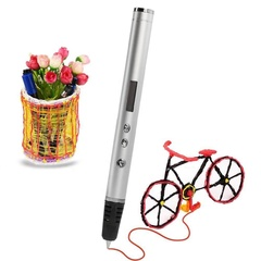3D ручка Myriwell RP900A + 120 м пластика + трафареты