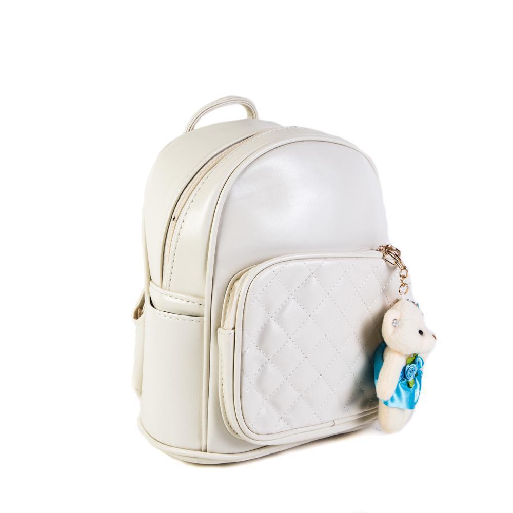6578-3 White Рюкзак женский