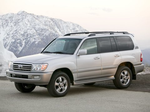 Чехлы на Toyota Land Cruiser 100 1997–2007 г.в.