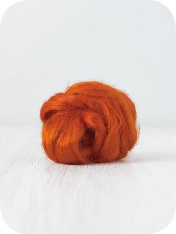 Волокна крапивы для валяния. Тыква