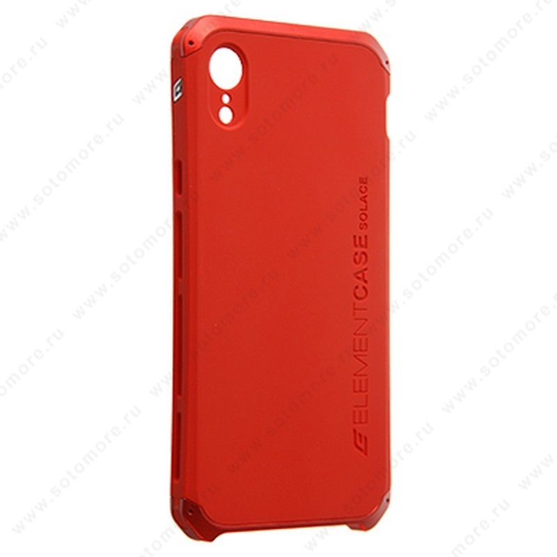Накладка ELEMENT CASE для iPhone XR красный