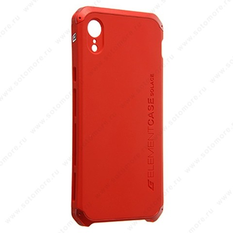Накладка ELEMENT CASE для iPhone XR красный