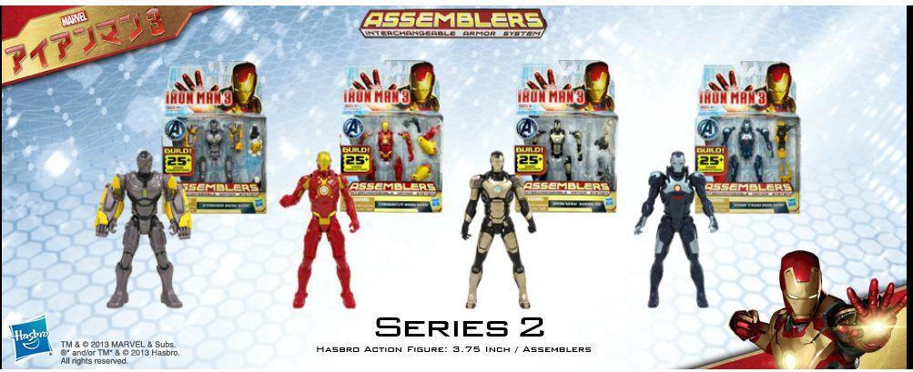Iron Man 3 Assemblers Series 02