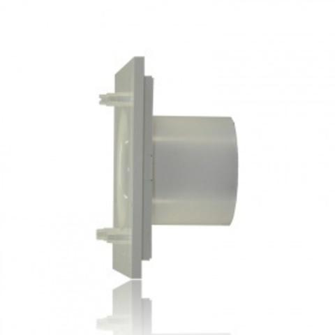 Накладной вентилятор Soler & Palau SILENT 200 CHZ DESIGN-3С MARBLE BLACK (датчик влажности)