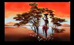 """Постер """"Экзотическая Африка"""""""