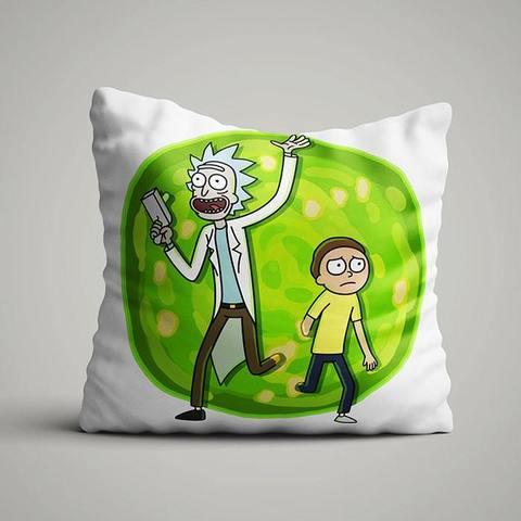 Подушка с Риком и Морти