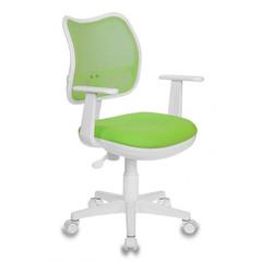 Кресло детское Бюрократ CH-W797 (ткань/сетка зеленая)