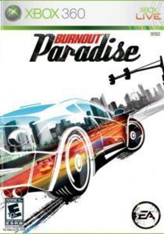 Xbox 360 Burnout Paradise (английская версия)