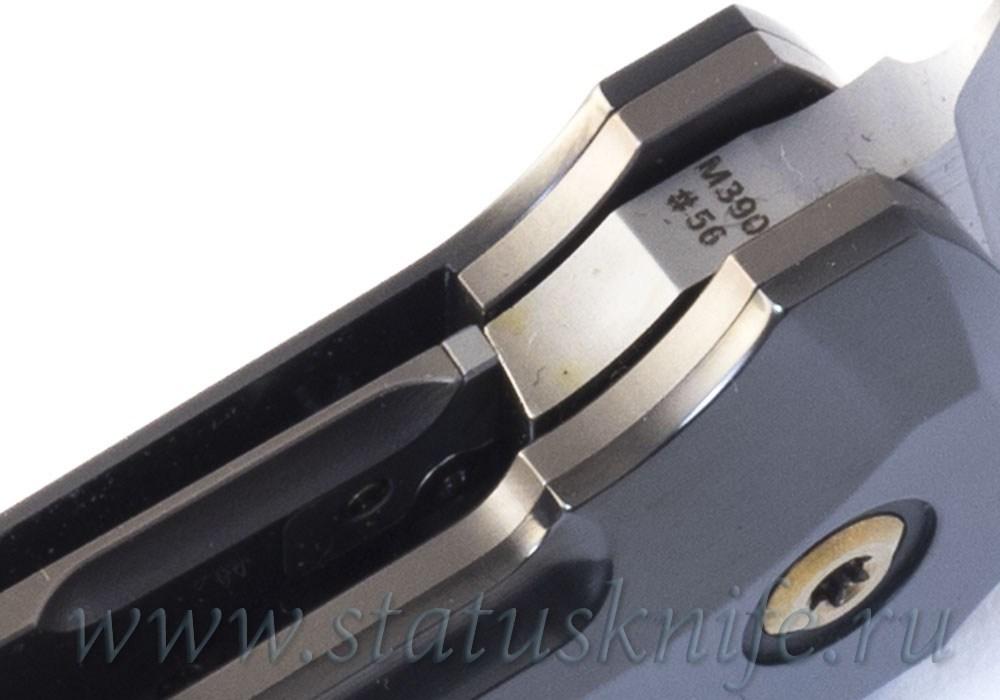 Нож CKF/Philippe Jourget FIF23 Marble (M390, титан+цирконий+ мраморный карбон) - фотография