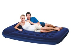 Кровать надувная Bestway Flocked Air Bed Queen +