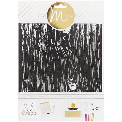 Трафарет для фольгирования Minc Art Screen 16,5х21,5см - Woodgrain