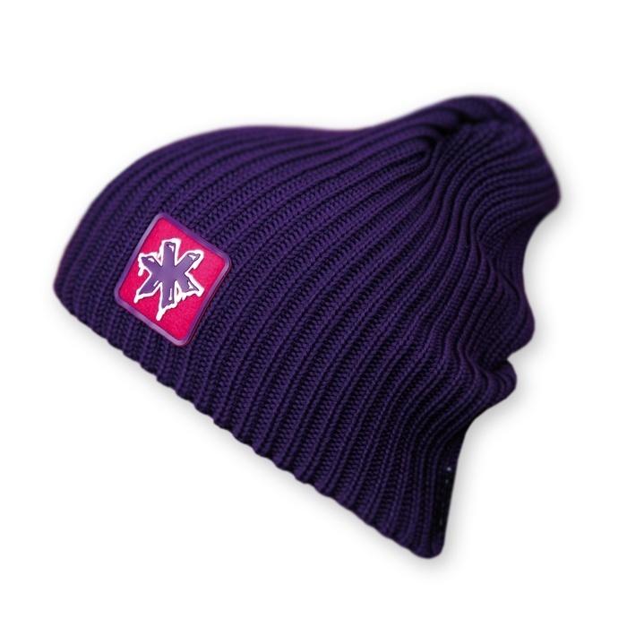 Длинные шапки Шапка-бини Kama K20 Violet kamakadze-knitted-hat-k20-default__4_.jpg