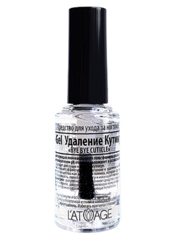 L'atuage Средство для ногтей Ph-Gel Удаление кутикулы «Bye Bye Cuticle» 8.5г